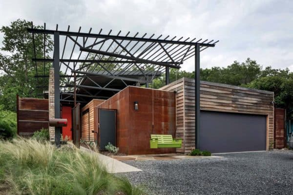 featured posts image for Exceptional modern industrial Texan dwelling: Casa Bonita