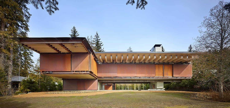 Mountain Ski Retreat-Olson Kundig Architects-01-1 Kindesign