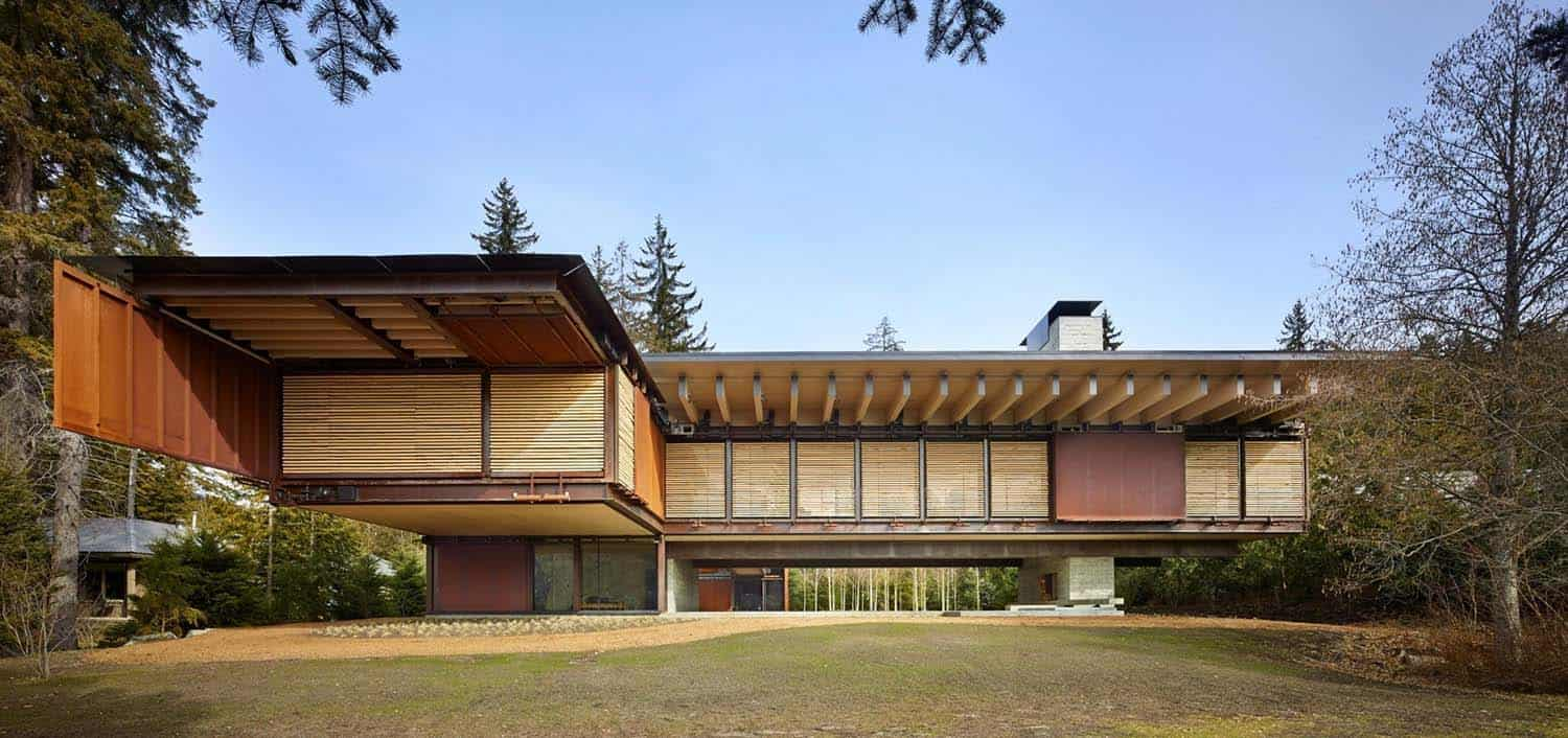 Mountain Ski Retreat-Olson Kundig Architects-05-1 Kindesign