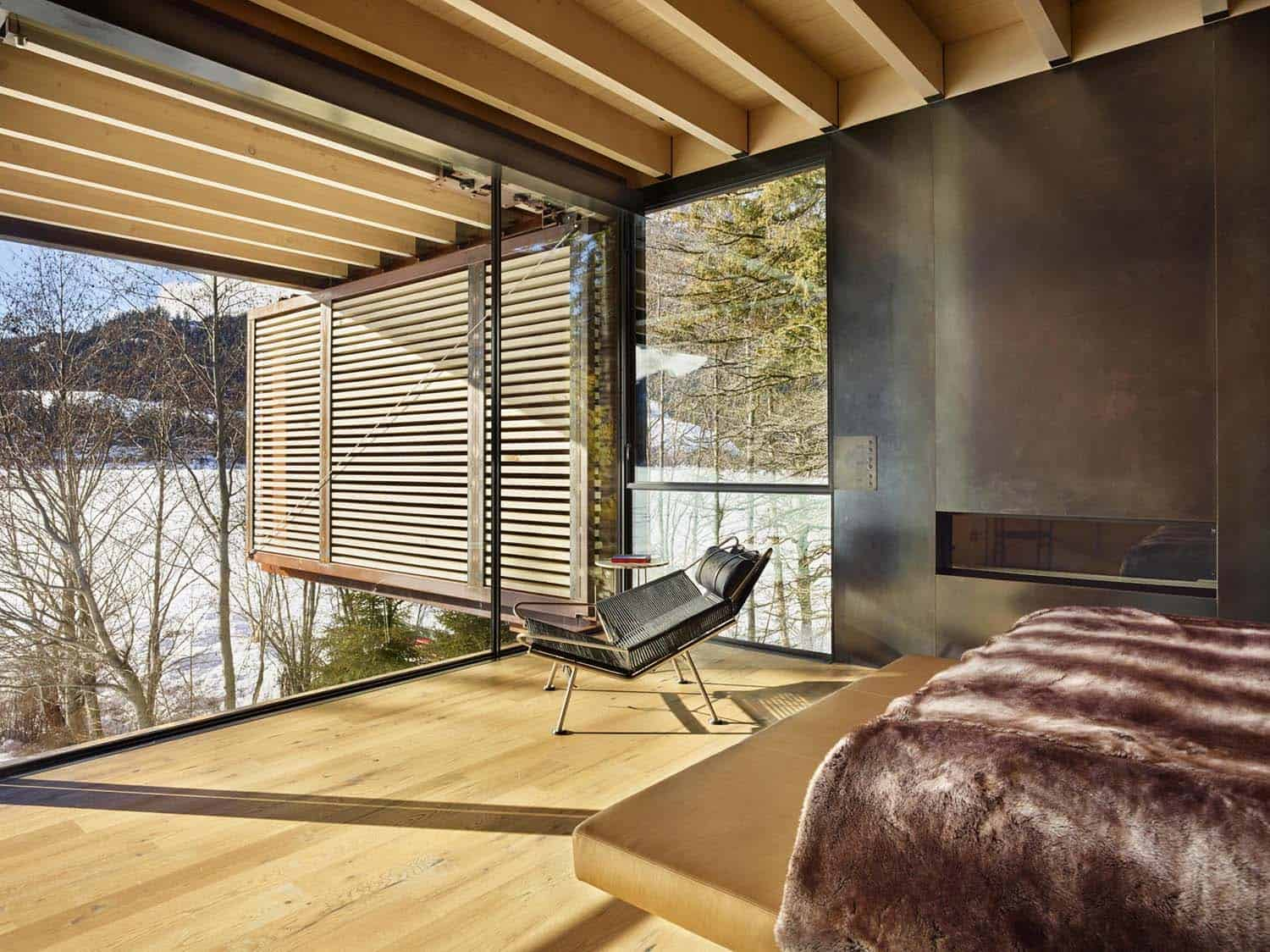 Mountain Ski Retreat-Olson Kundig Architects-10-1 Kindesign