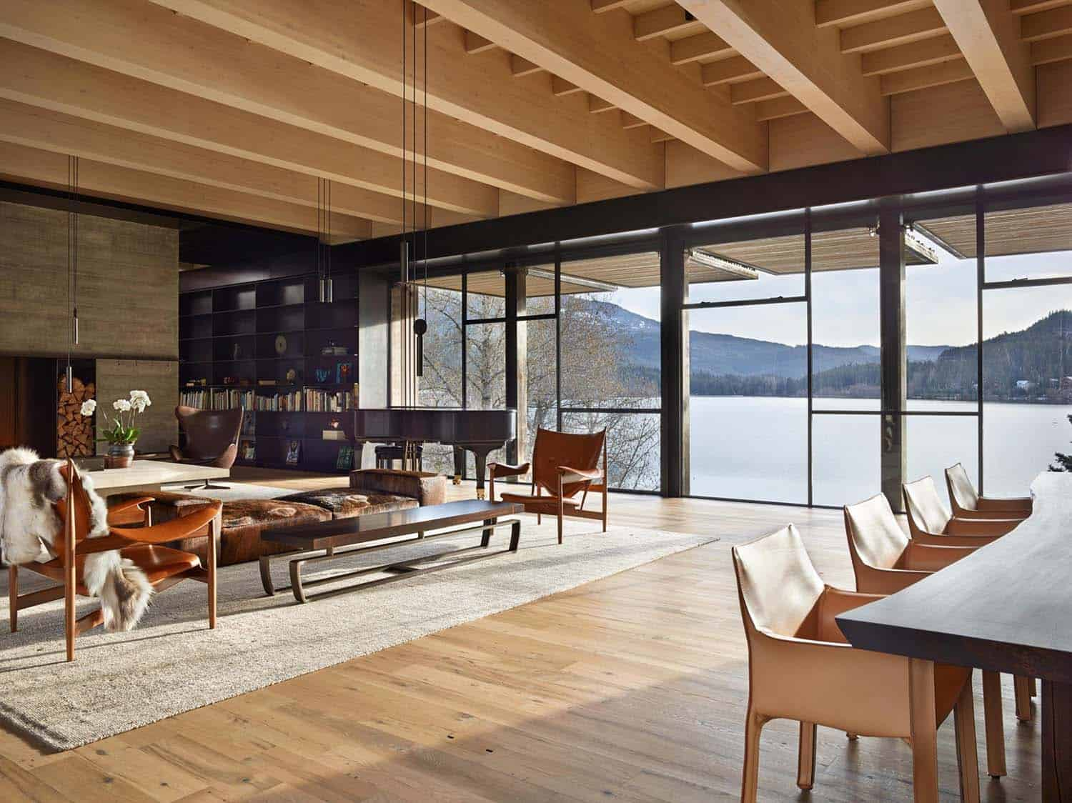 Mountain Ski Retreat-Olson Kundig Architects-12-1 Kindesign