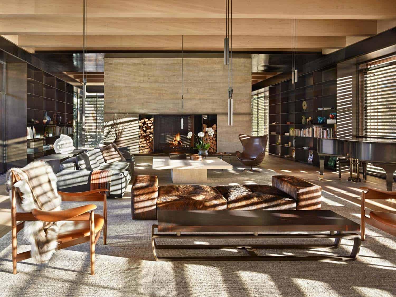 Mountain Ski Retreat-Olson Kundig Architects-13-1 Kindesign