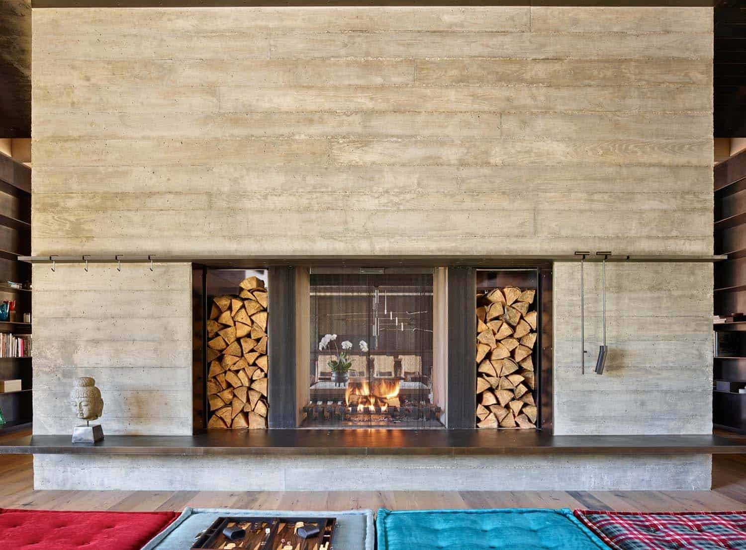 Mountain Ski Retreat-Olson Kundig Architects-14-1 Kindesign
