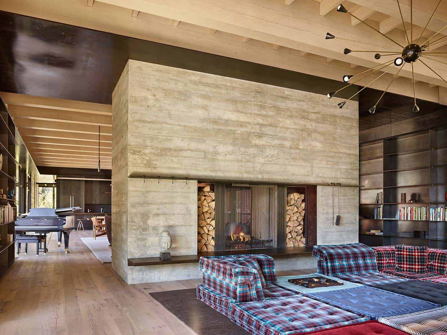 Mountain Ski Retreat-Olson Kundig Architects-26-1 Kindesign