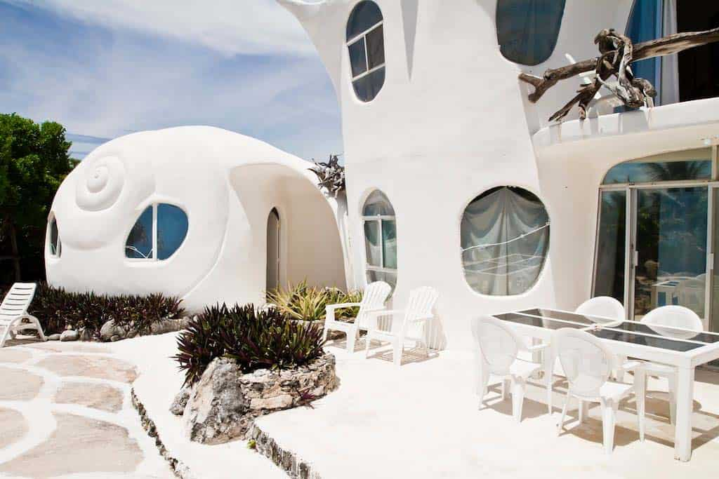Seashell House-Casa Caracol-Isla Mujeres-Mexico-02-1 Kindesign
