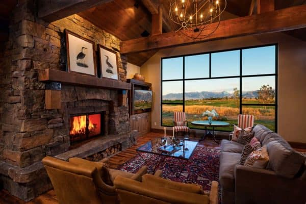 featured posts image for Striking mountain refuge in Montana: Traditional meets contemporary
