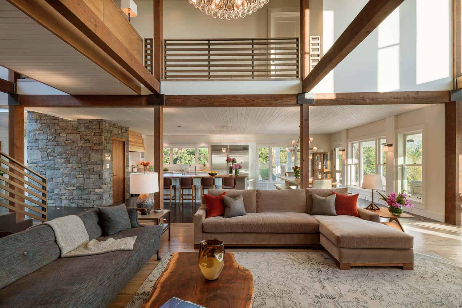 Contemporary Farmhouse Style Rockefeller Partners Architects 14 1 Kindesign Classic