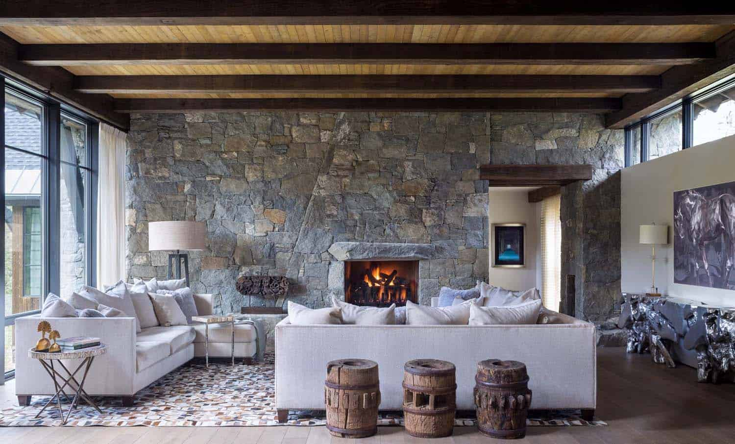 Contemporary mountain chalet andrea schumacher interiors 02 1 kindesign