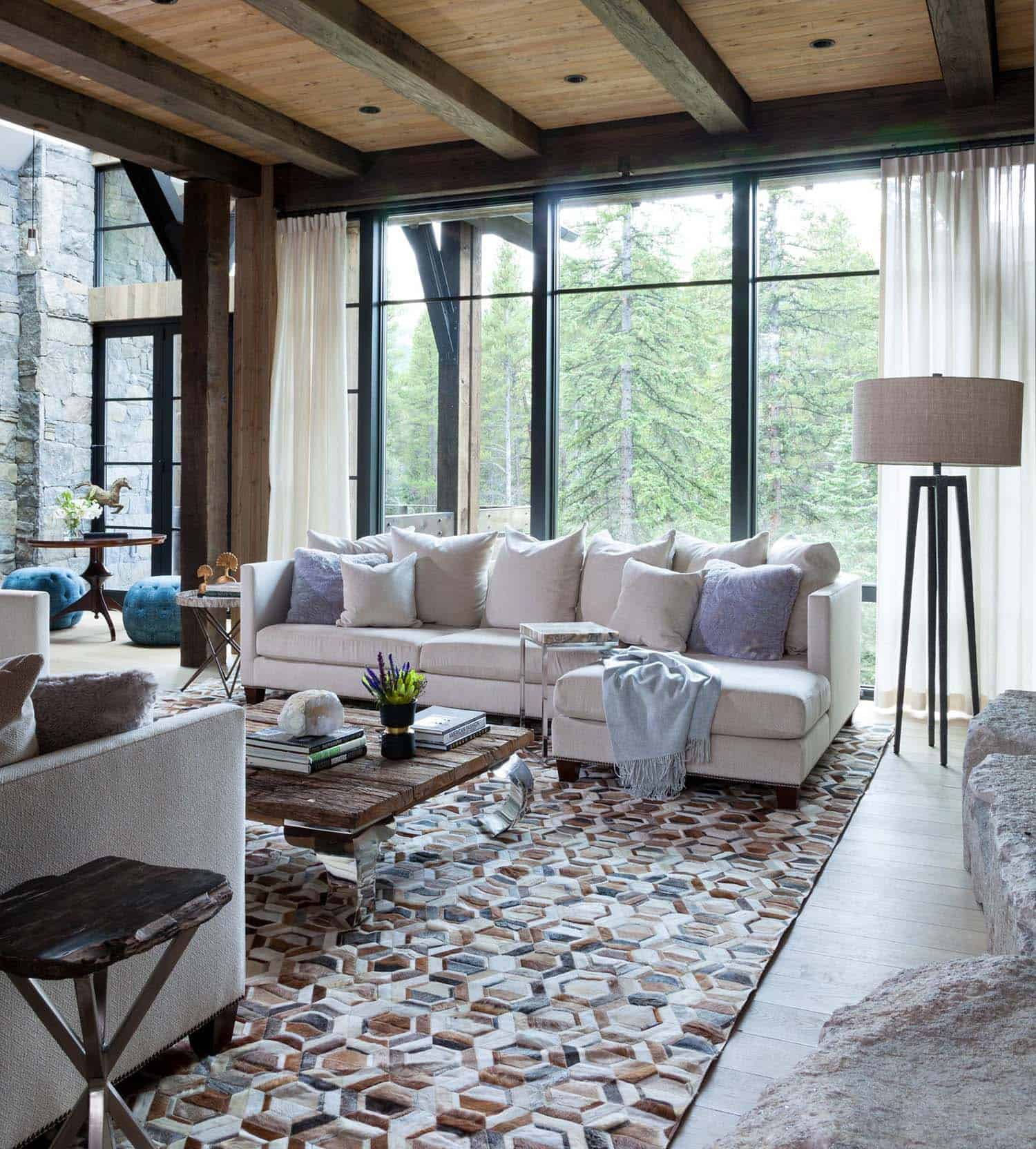 Contemporary Mountain Chalet-Andrea Schumacher Interiors-03-1 Kindesign