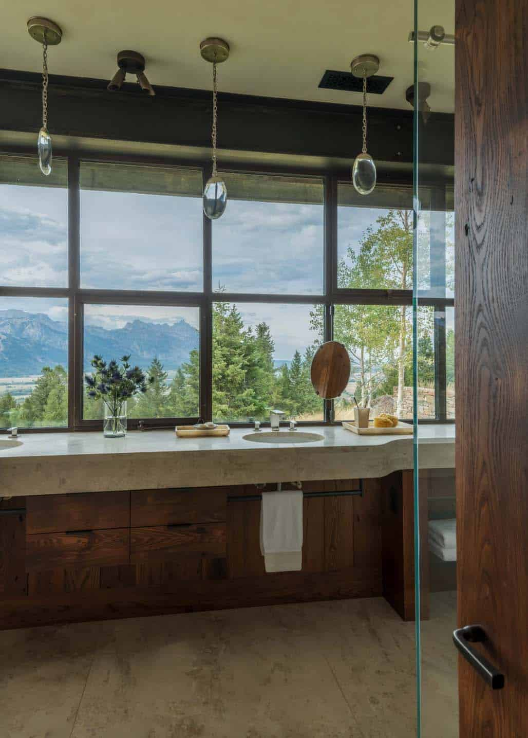 Contemporary Mountaintop Homestead JLF Associates 18 1 Kindesign