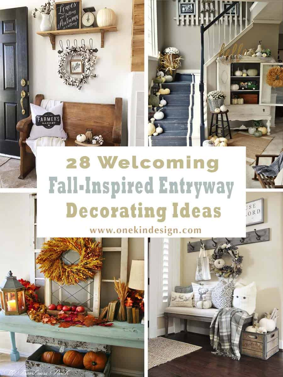 Fall Inspired Entryway Decorating Ideas 00 1 Kindesign