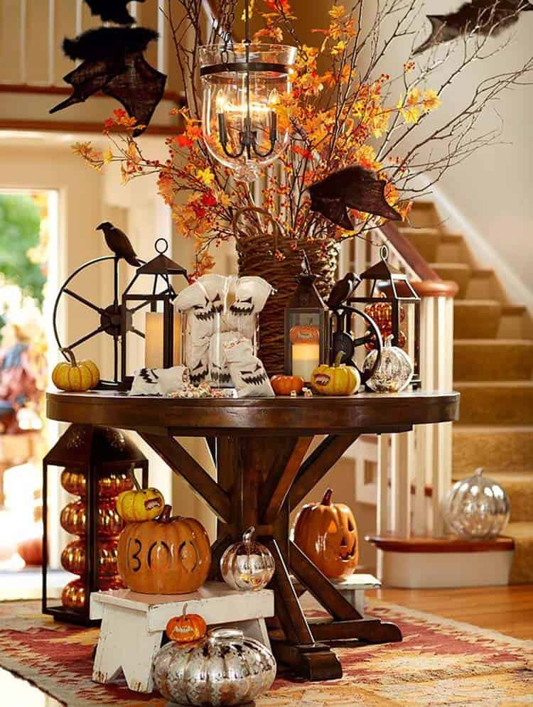 Foyer Decor Xbox One : Welcoming fall inspired entryway decorating ideas