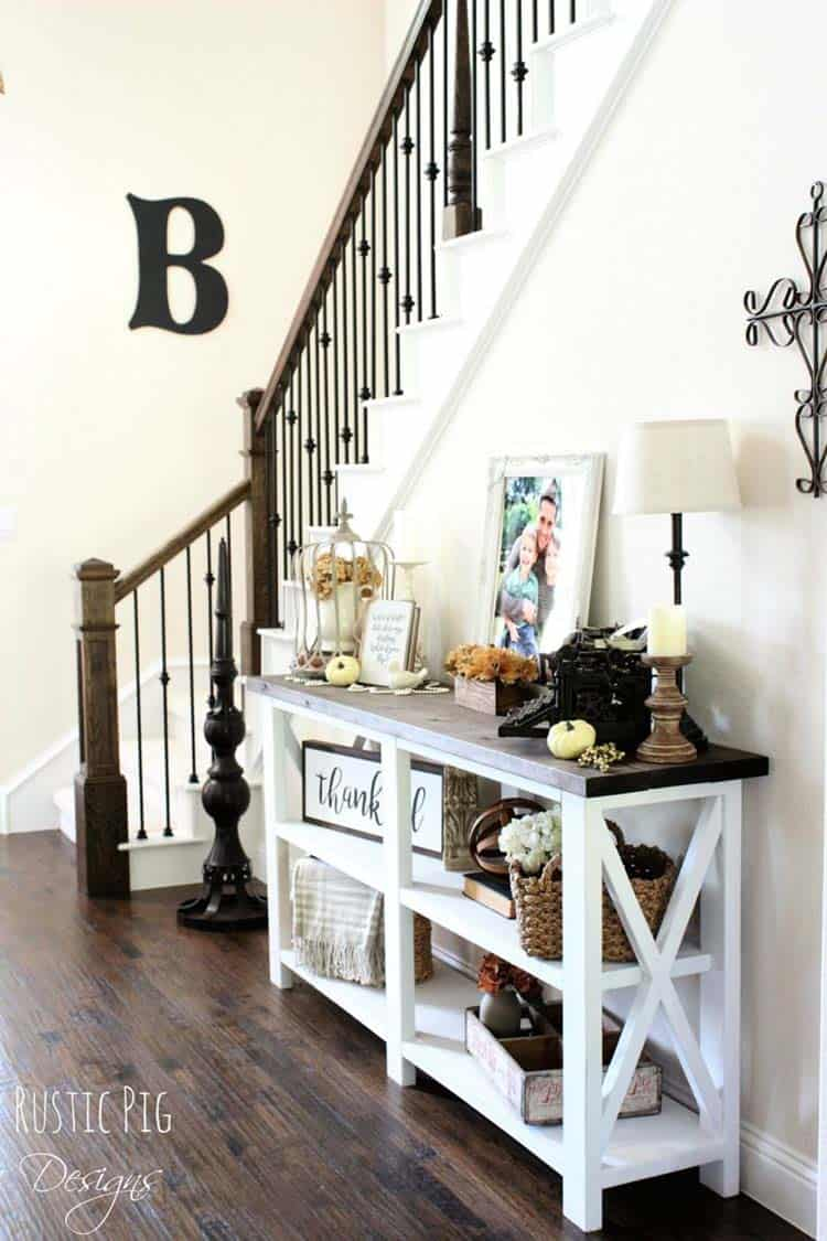 Fall-Inspired Entryway Decorating Ideas-27-1 Kindesign