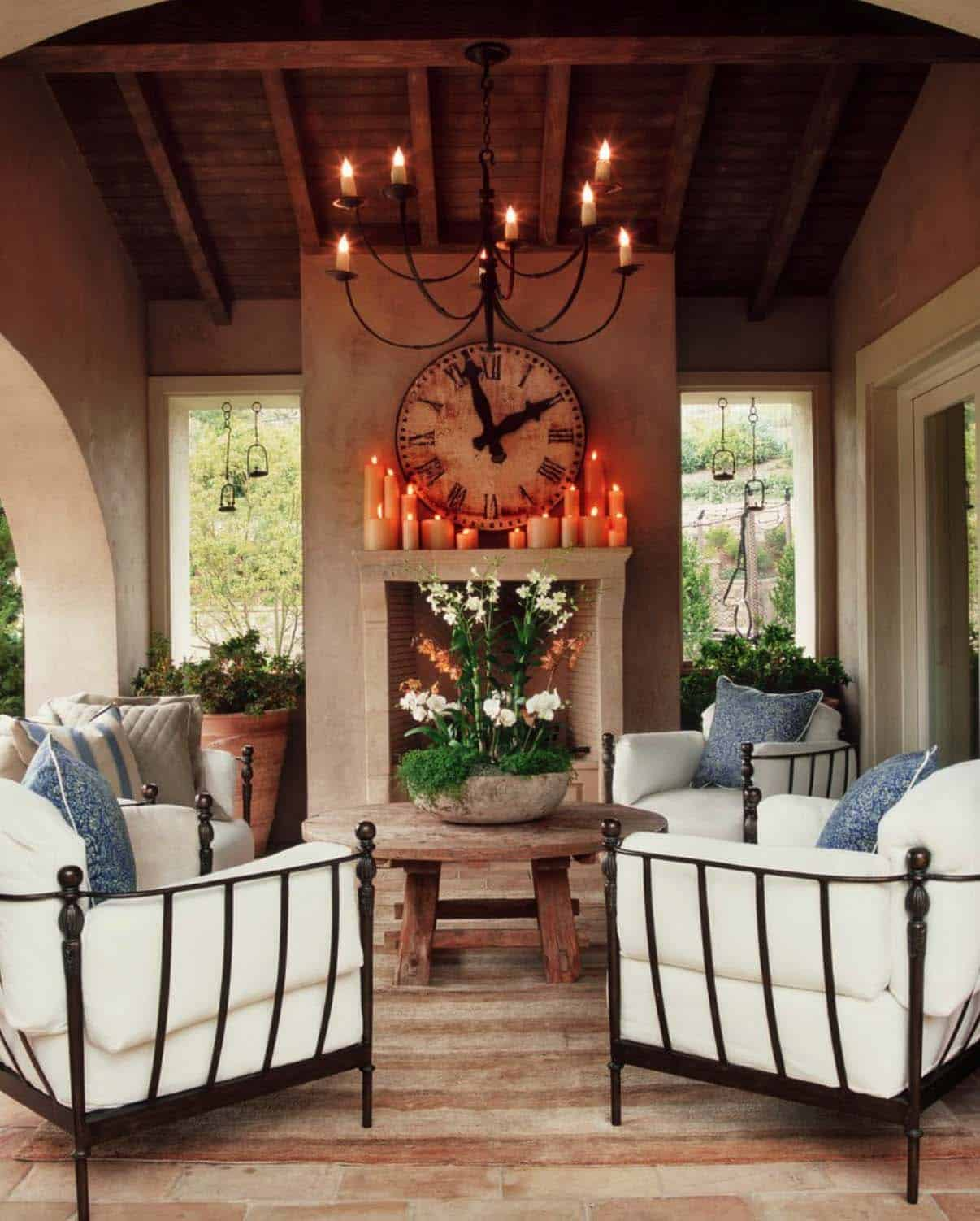 25+ Fall-inspired outdoor living spaces that are ultra-cozy on Living Spaces Patio Set id=71204