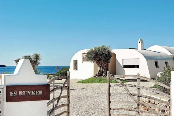 featured posts image for Luminous cliffside refuge on the island of Menorca: The Bunker
