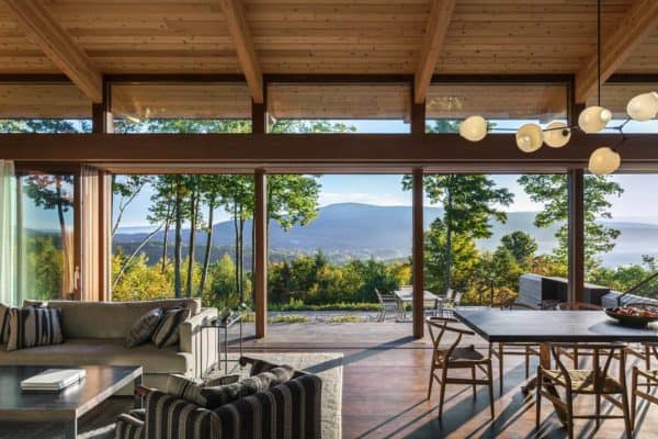 featured posts image for Mountainside home offers sweeping views over the Berkshires