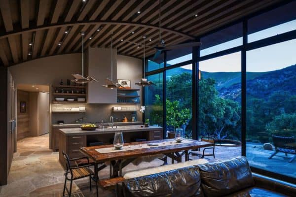 featured posts image for Modern family retreat in Santa Barbara nestled in a coastal canyon