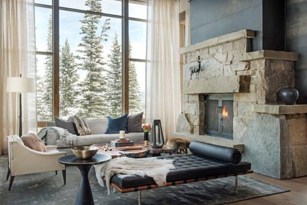 featured posts image for Breathtaking mountain modern home deep in the Montana forest