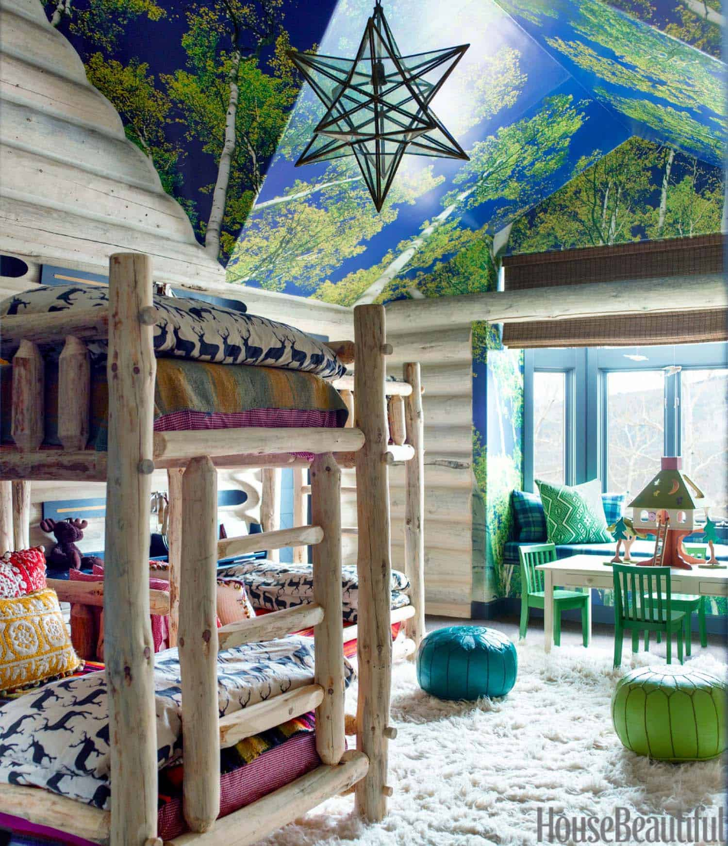 Rustic Log Cabin-Thom Filicia-10-1 Kindesign