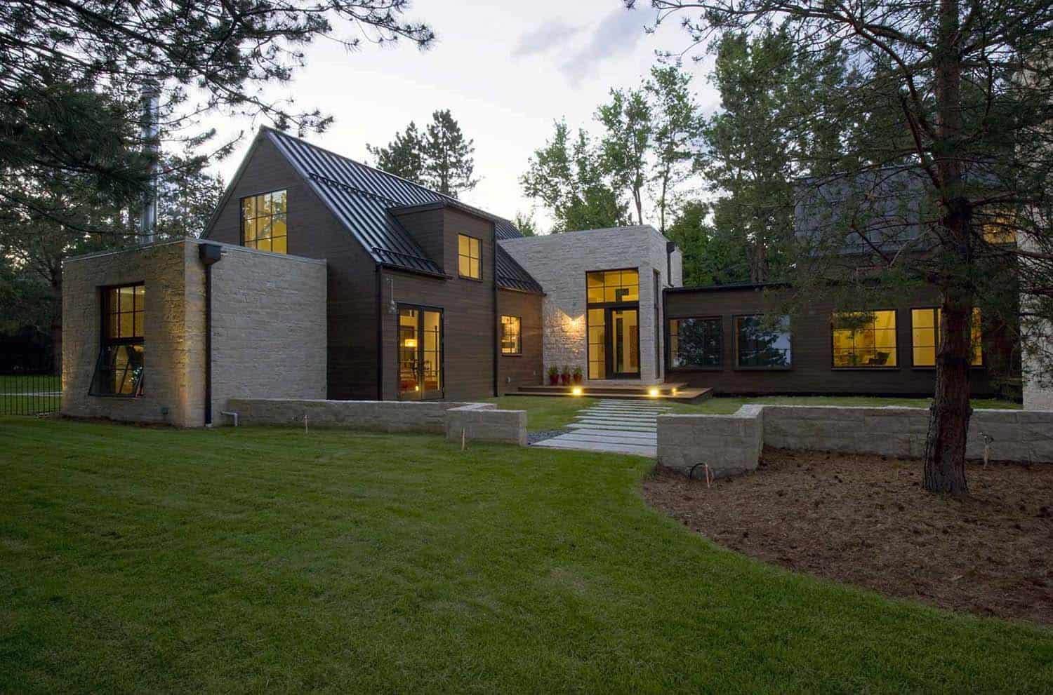 Breathtaking colorado home with contemporary farmhouse style details