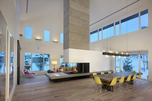 featured posts image for Contemporary ski chalet in Canada inspired by its environment