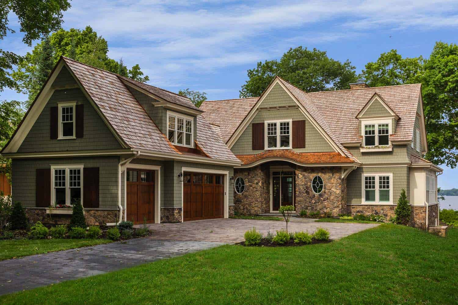 Charming Cottage Inspired Home Nestled On Lake Minnetonka