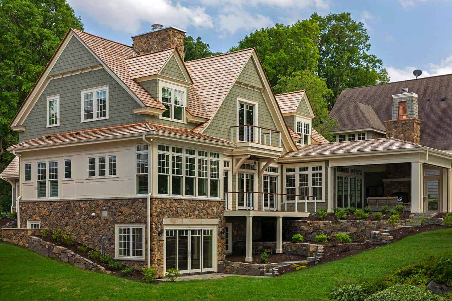 Charming cottage inspired home nestled on lake minnetonka for Charming cottage house plans