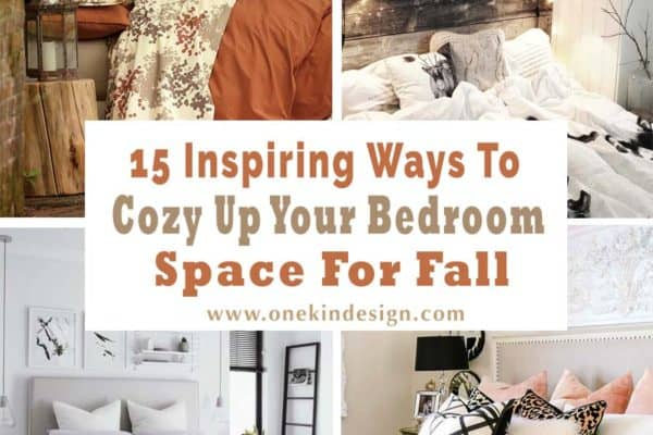 featured posts image for 15 Inspiring ways to cozy up your bedroom space for fall