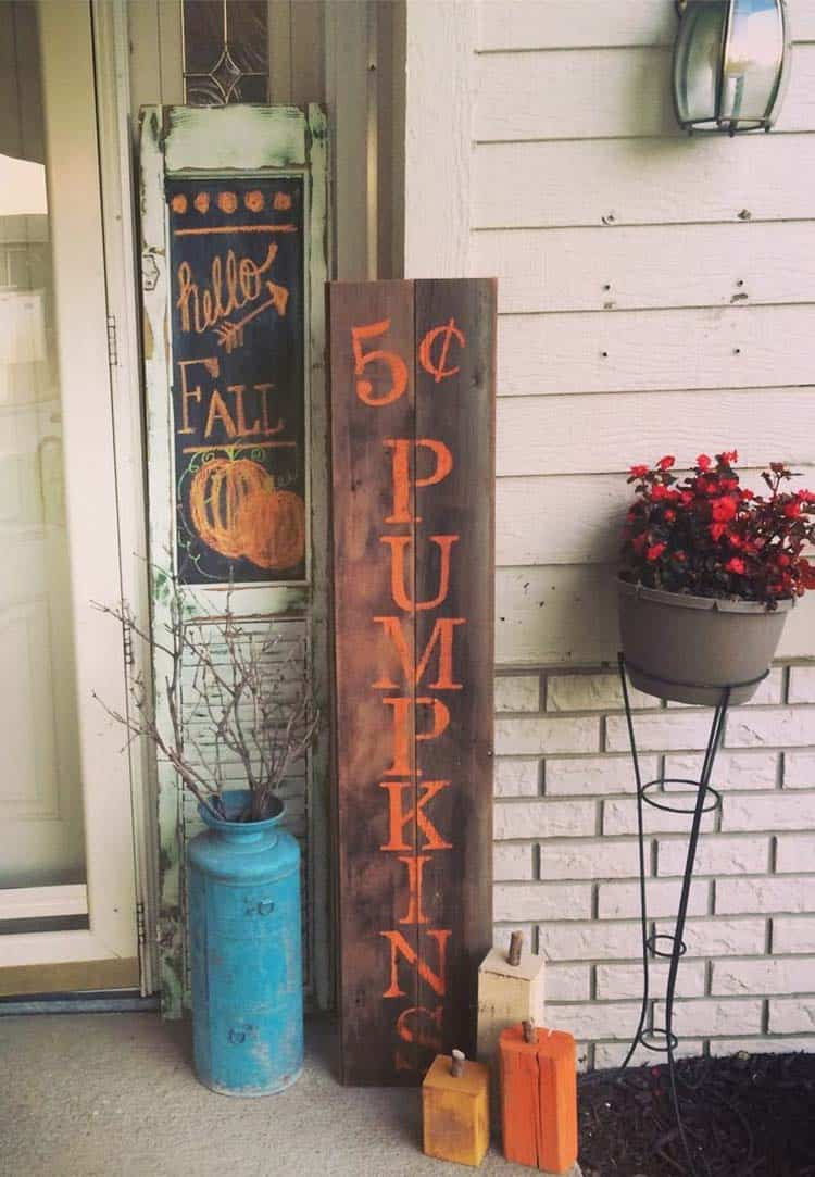 Fall Front Door Decorating Ideas-01-1 Kindesign