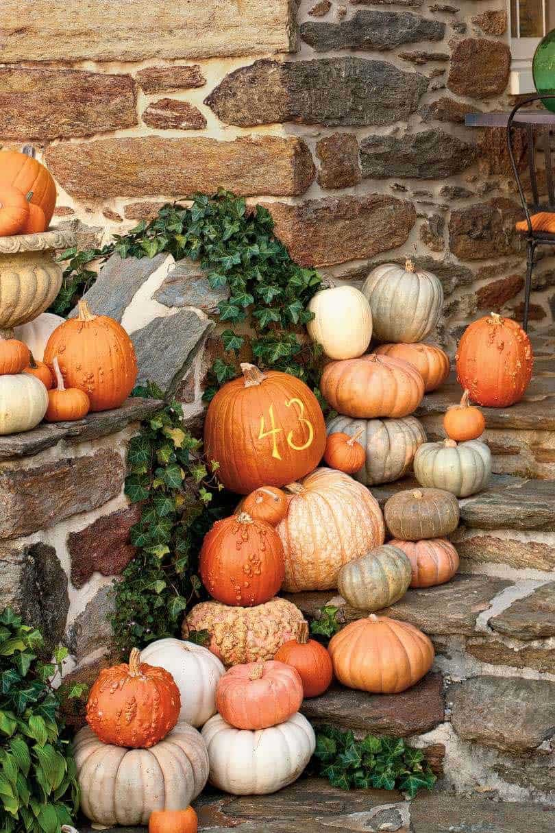 Fall Front Door Decorating Ideas-08-1 Kindesign