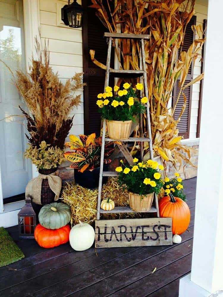 Fall Front Door Decorating Ideas-10-1 Kindesign