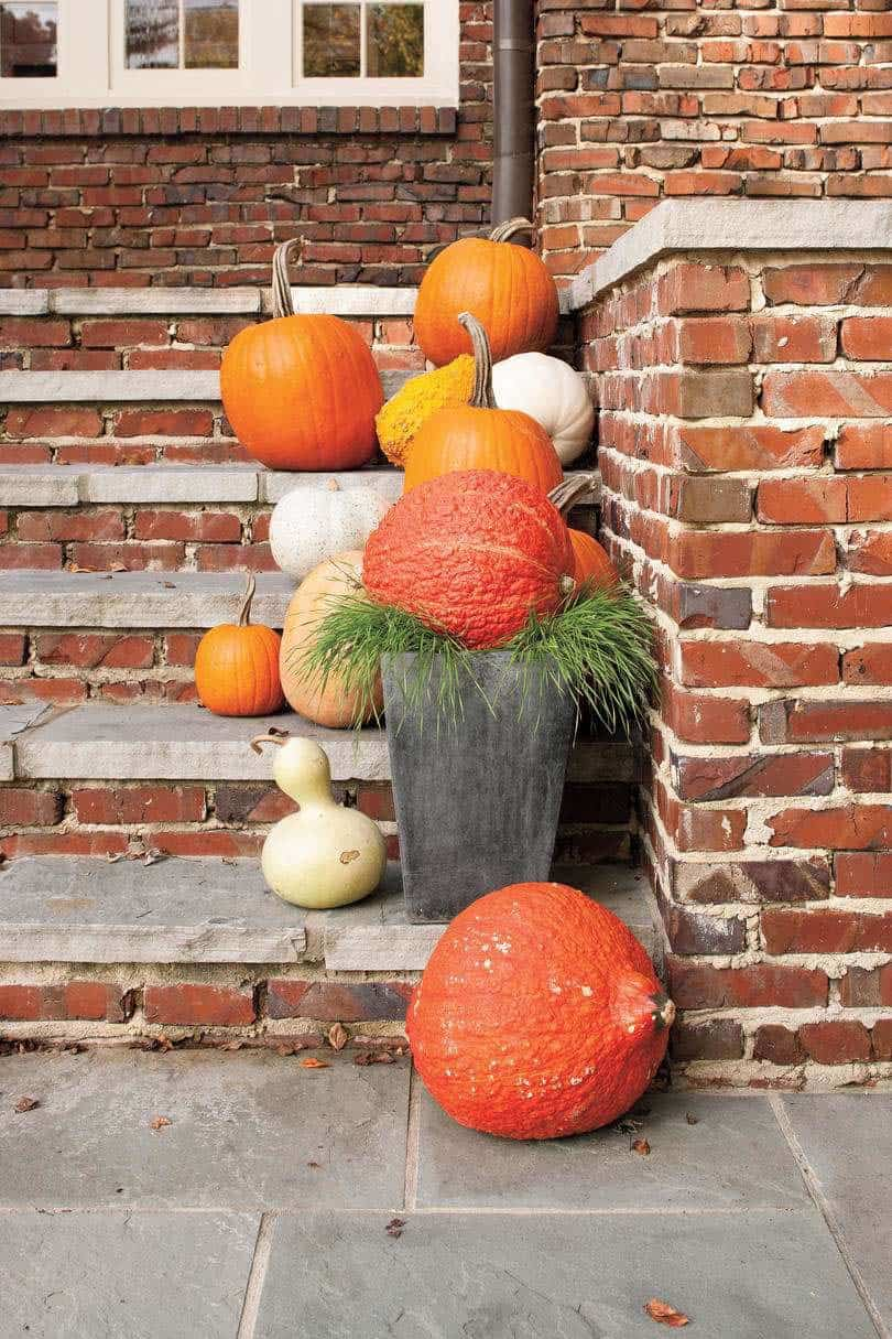 Fall Front Door Decorating Ideas-11-1 Kindesign