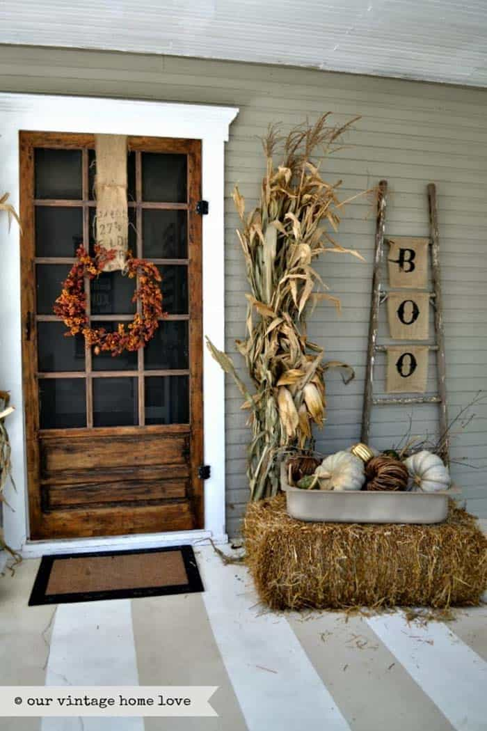 Fall Front Door Decorating Ideas-31-1 Kindesign