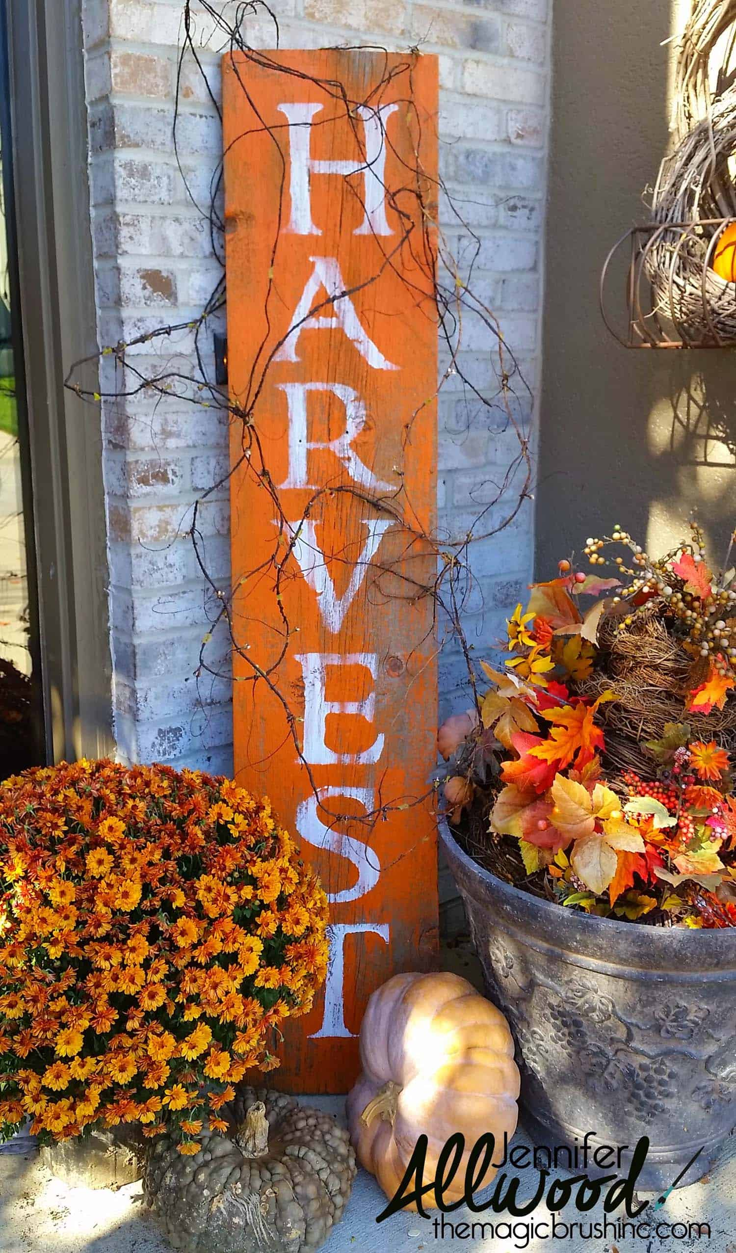 Fall Front Door Decorating Ideas-33-1 Kindesign
