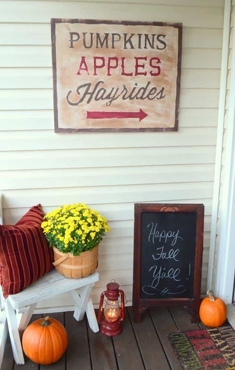 Fall Front Door Decorating Ideas-36-1 Kindesign