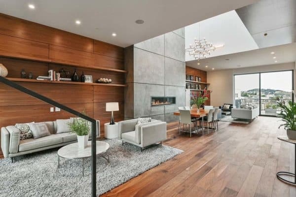 featured posts image for Striking four-level home offers exhilarating San Francisco skyline views