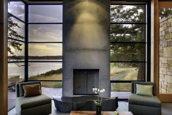 featured posts image for Modern sanctuary nestled on the rugged San Juan Islands