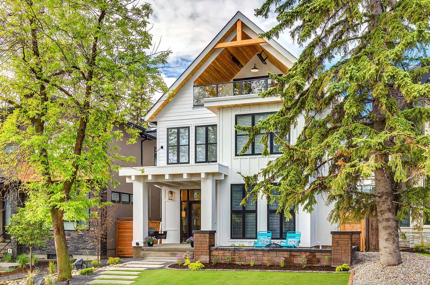 Calgary home radiates with fresh modern farmhouse style for Modern farmhouse style