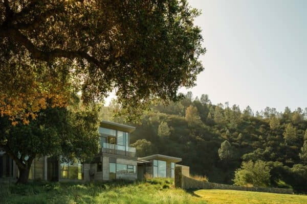 featured posts image for Rammed earth house hidden in the forested hills of Northern California