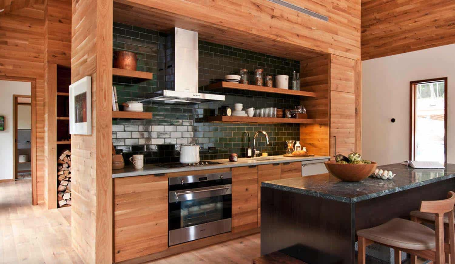 Modern-Rustic Dwelling-Lang Architecture-04-1 Kindesign