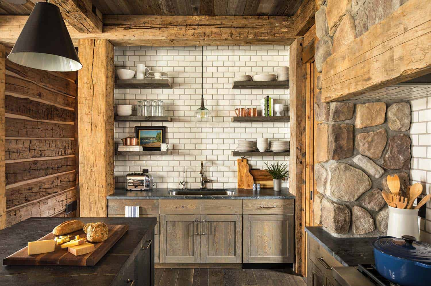 Rustic Lake House-Martha OHara Interiors-05-1 Kindesign