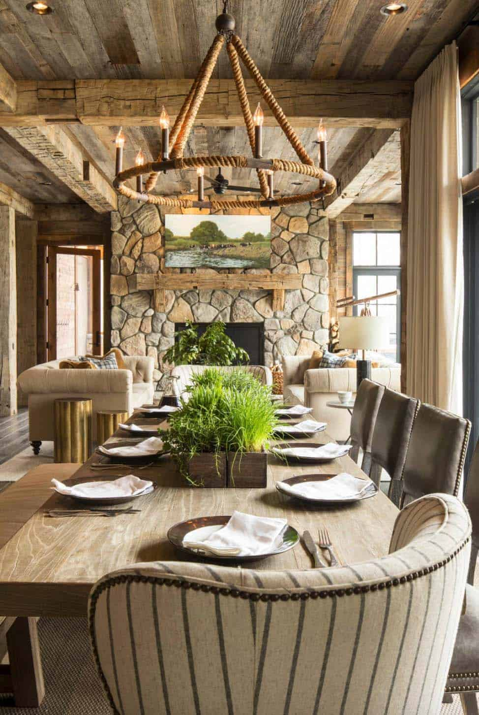 Rustic Lake House-Martha OHara Interiors-09-1 Kindesign