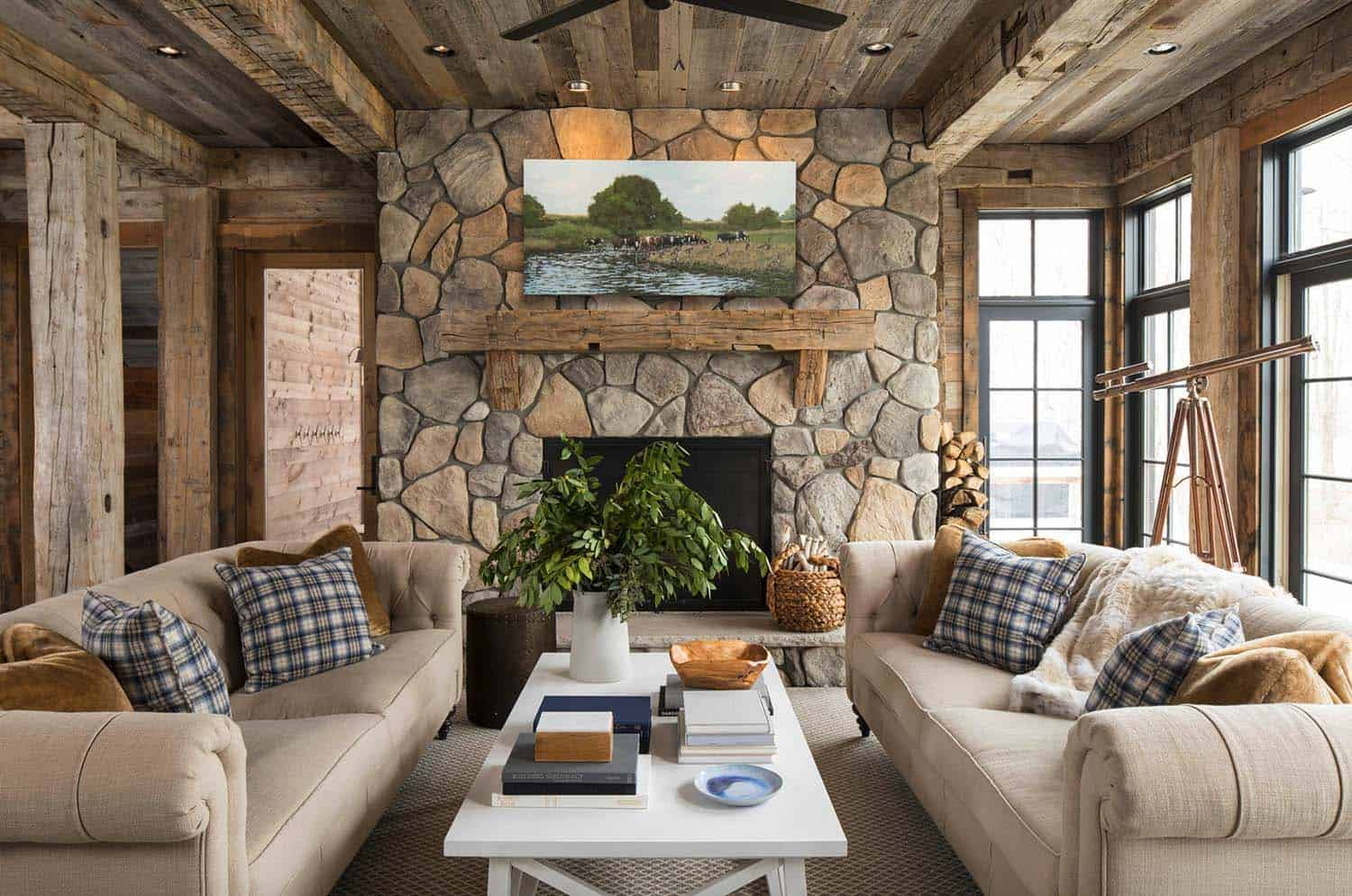 Rustic Lake House-Martha OHara Interiors-10-1 Kindesign