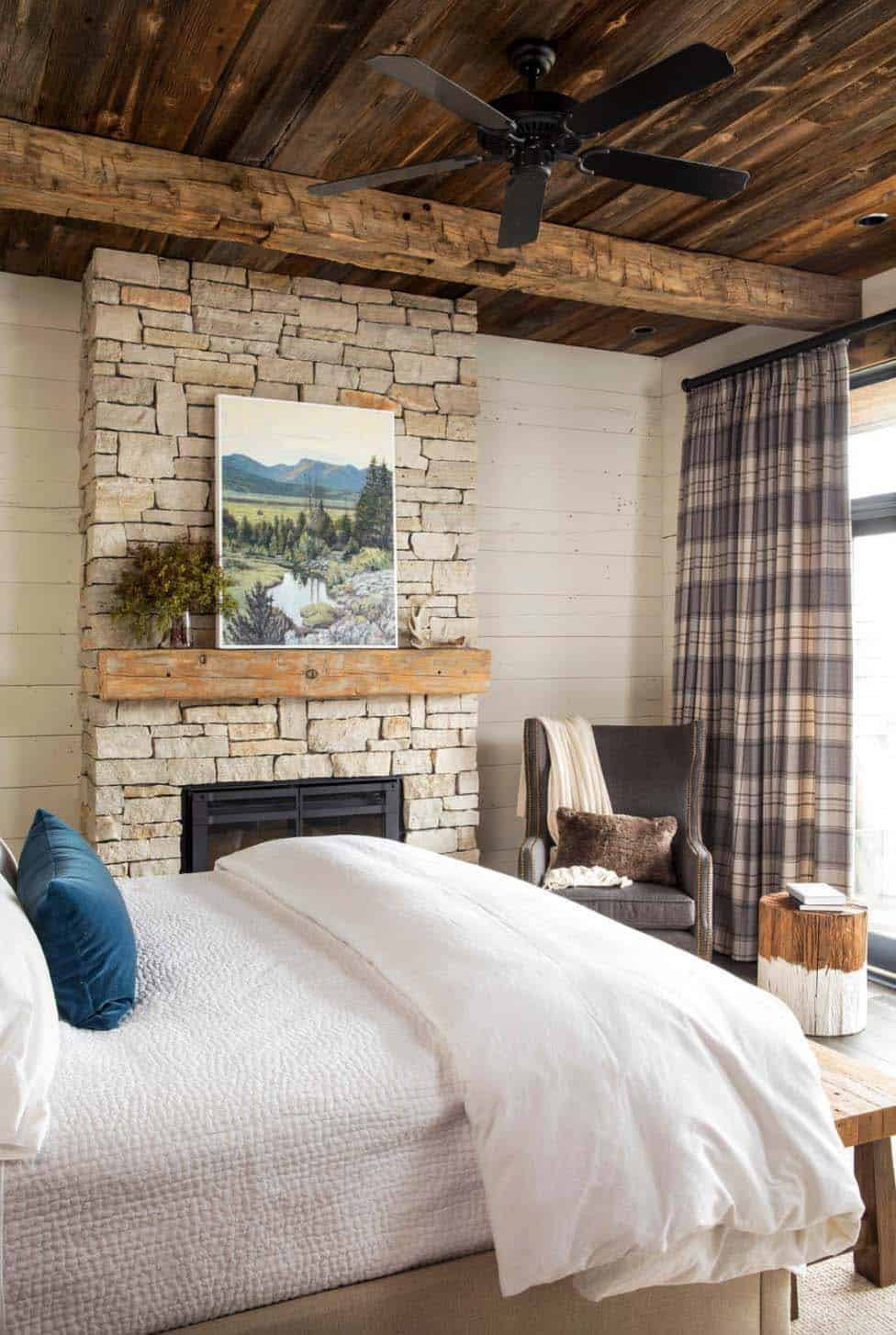 Rustic Lake House-Martha OHara Interiors-14-1 Kindesign
