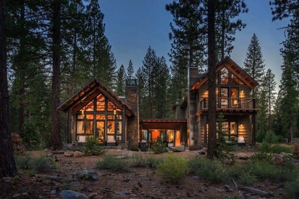 featured posts image for Rustic mountain house with a modern twist in Truckee, California