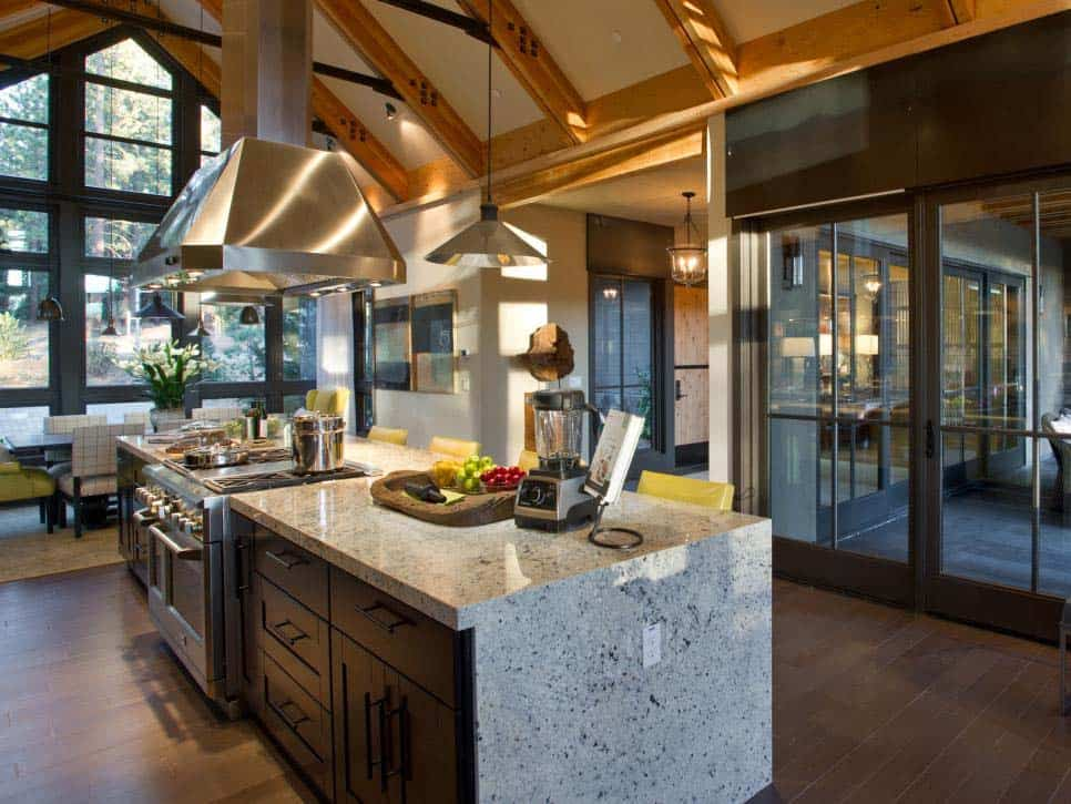 Rustic Mountain House-Ward Young Architects-11-1 Kindesign