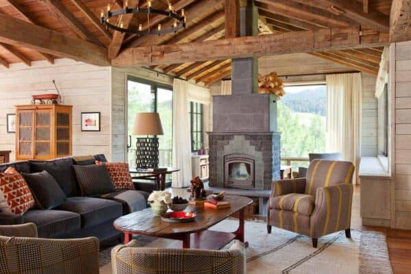featured posts image for Rustic mountain retreat nestled in the Bridger Mountain foothills