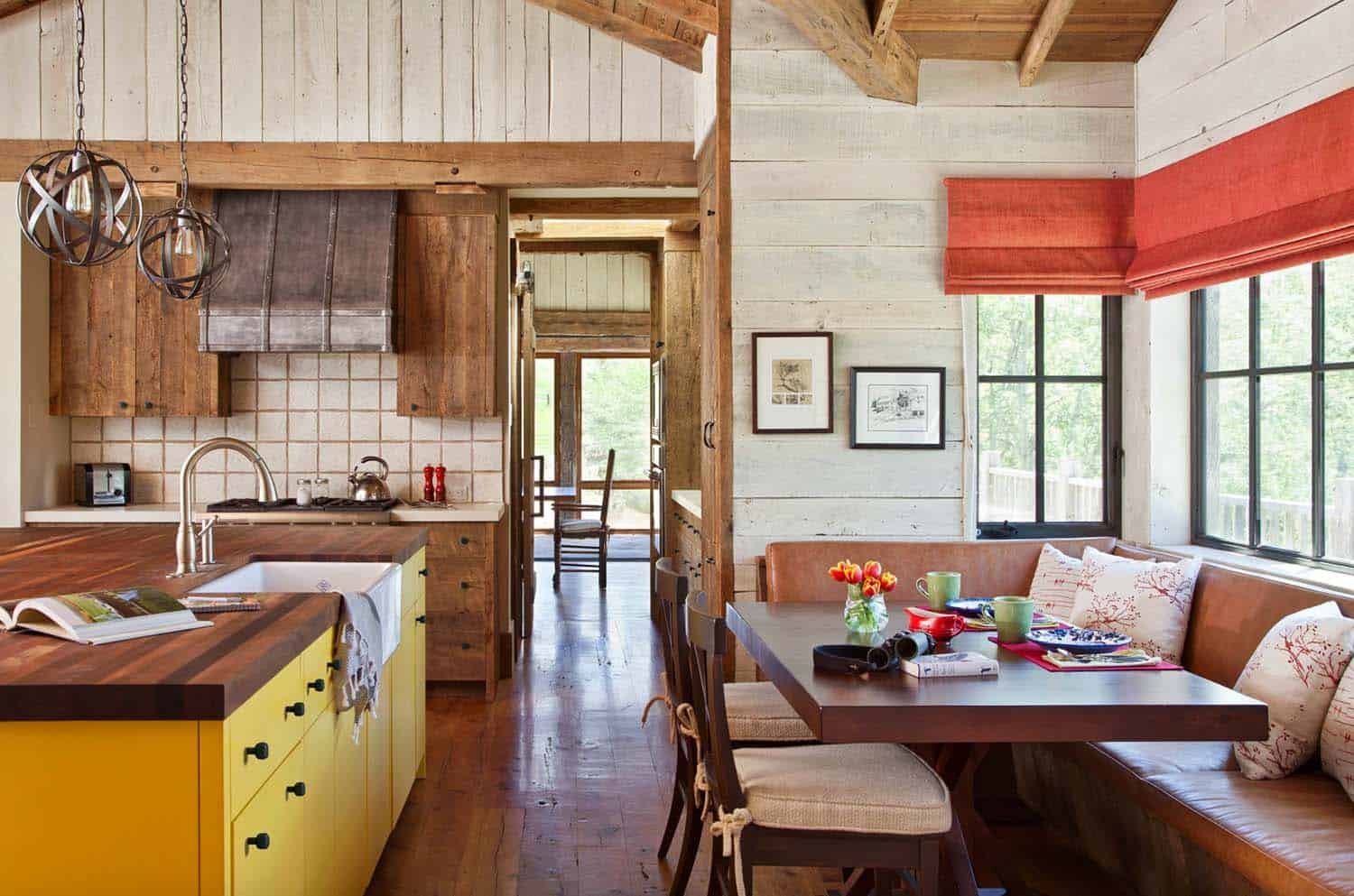 Rustic Mountain Retreat-Miller Roodell Architects-02-1 Kindesign