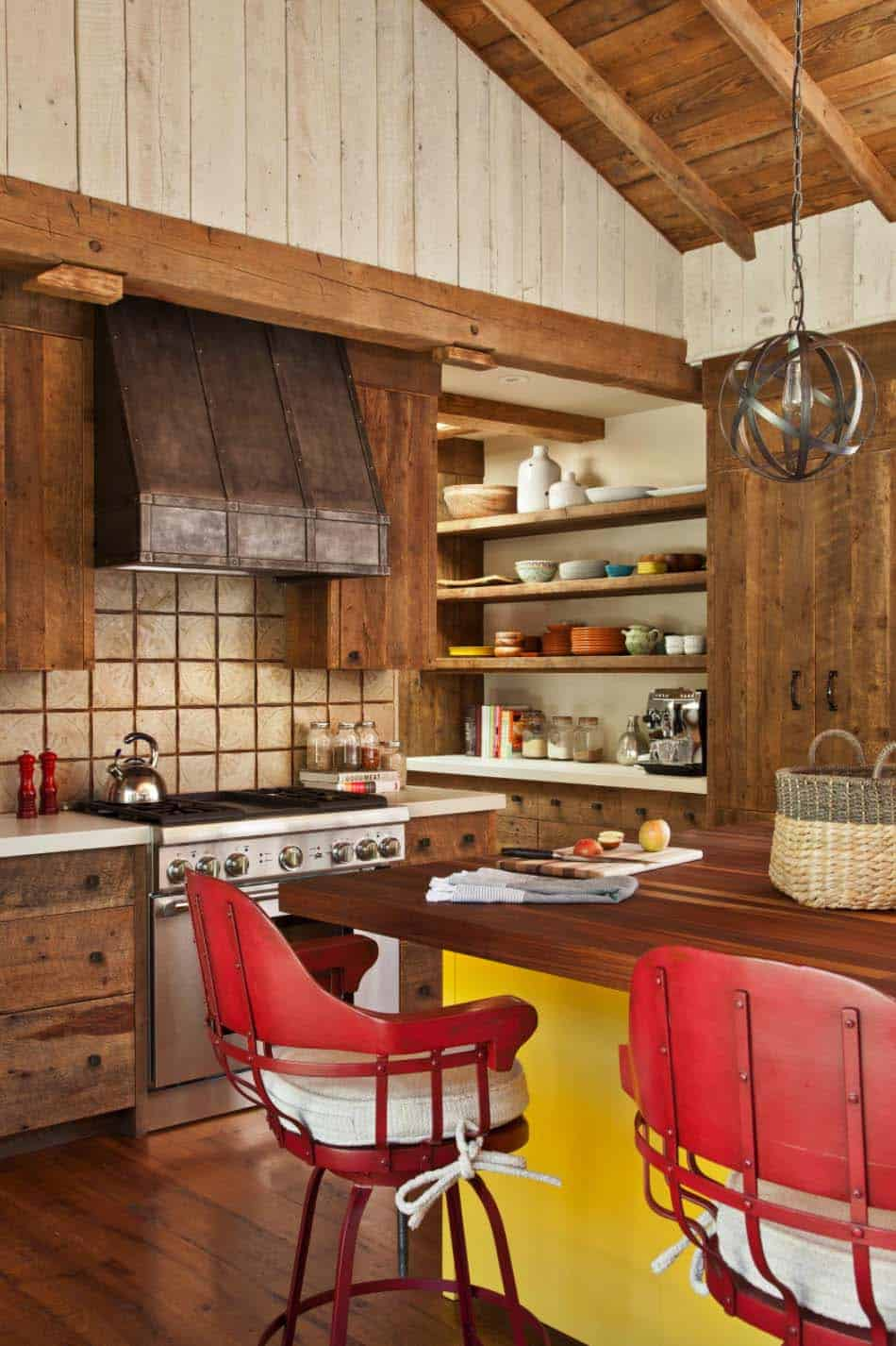Rustic Mountain Retreat-Miller Roodell Architects-08-1 Kindesign