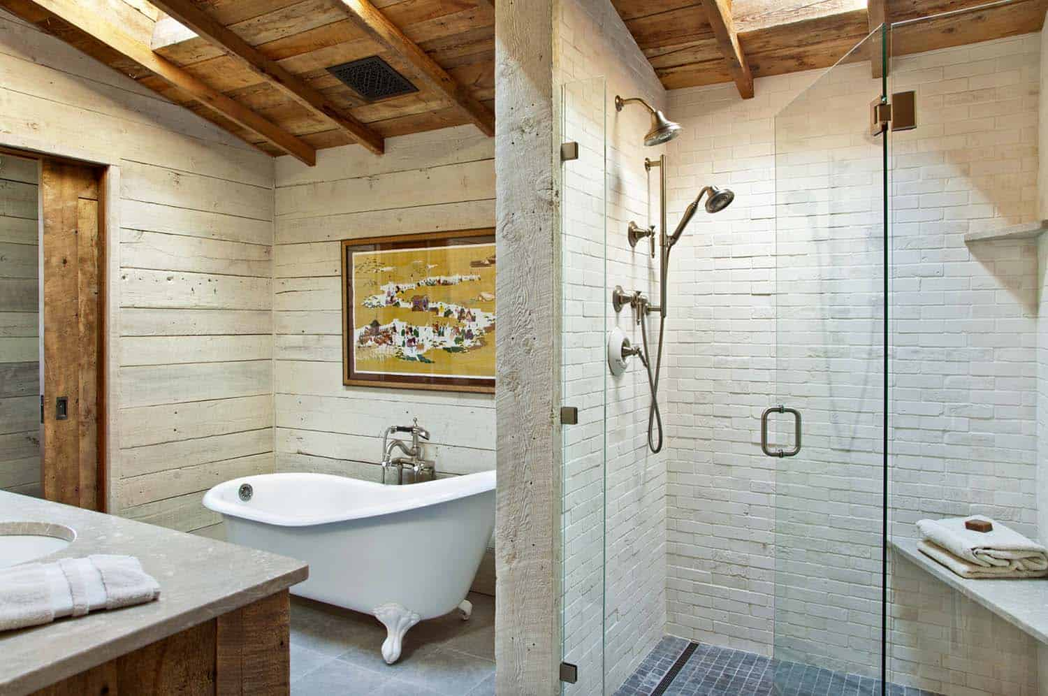 Rustic Mountain Retreat-Miller Roodell Architects-11-1 Kindesign